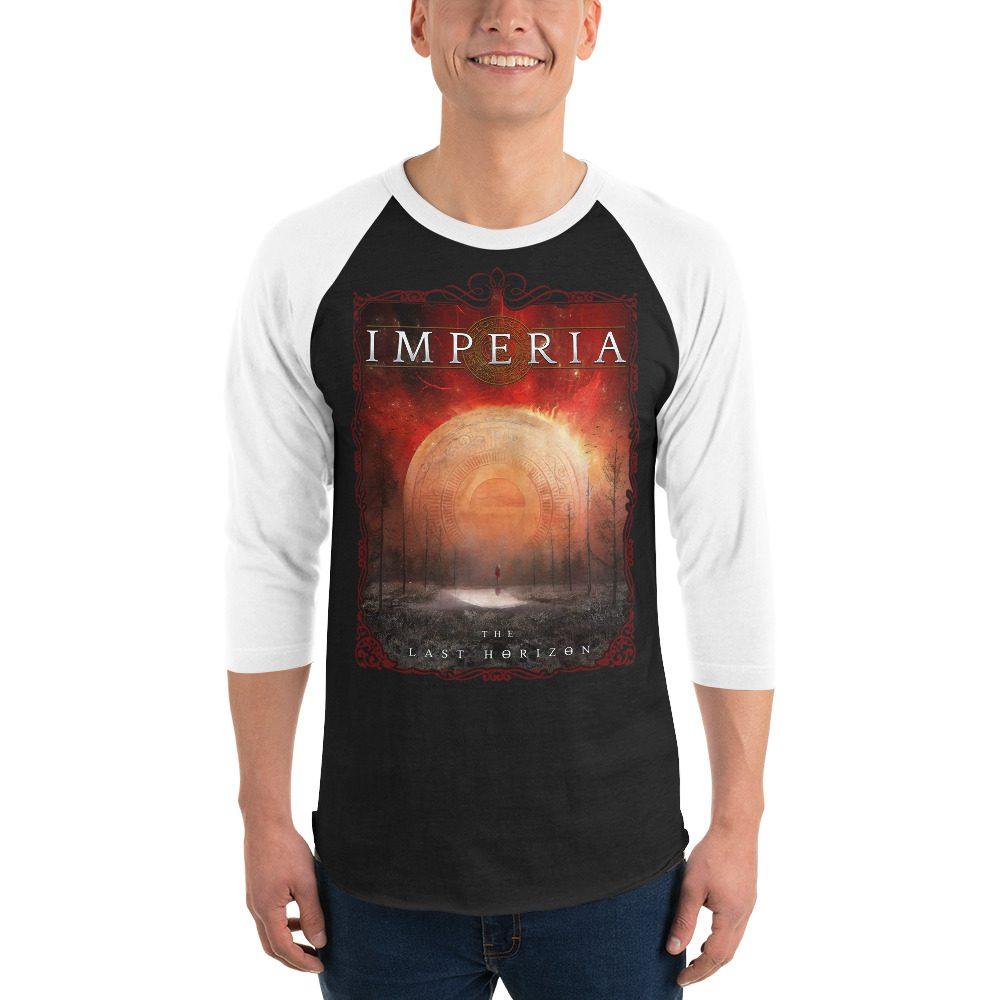 The Last Horizon 3/4 sleeve raglan shirt